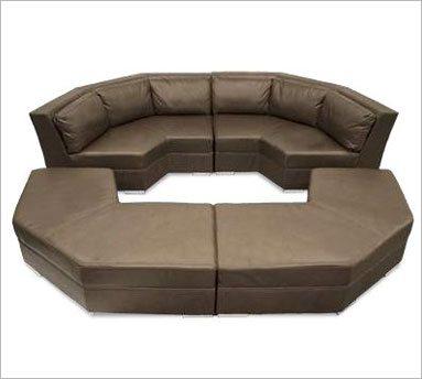 Bass Ind Futura Modular Sofa Leather Home Theater Furniture Home Theater Seats Theater