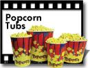 Benchmark Popcorn Tubs: 32, 46, 85, 130 oz ***FREE Shipping***