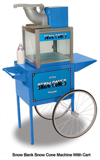 Benchmark Snow Bank Snow Cone Machine ***FREE Shipping***