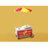 Benchmark Hotdog Mini Cart Steamer ***FREE Shipping***