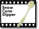 Benchmark Snow Cone Dipper ***FREE Shipping***