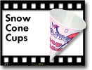 Benchmark Snow Cone Cups ***FREE Shipping***