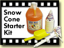 Benchmark Snow Cone Starter Kit ***FREE Shipping***