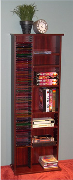 4D Concepts Multimedia Storage Unit Cherry