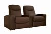 Cannes Home Theater Seats (2) Brown