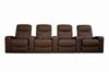 Cannes Home Theater Seats (4) Brown