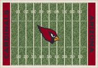 Arizona Cardinals NFL Football Field Rug