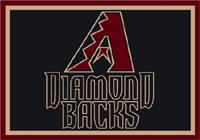 Arizona Diamondbacks MLB Spirit Rug Cut Pile Area Rug