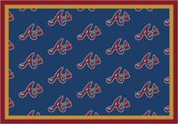 Atlanta Braves MLB Spirit Rug Cut Pile Area Rug