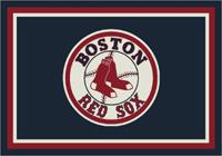 Boston Red Sox MLB Spirit Rug Cut Pile Area Rug