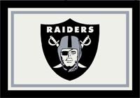 Oakland Raiders NFL Spirit/Team Rug