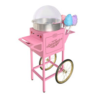 Nostalgia Electrics Vintage Collection Commercial Cotton Candy Machine