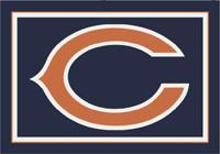 Chicago Bears NFL Spirit/Team Rug