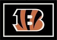 Cincinnati Bengals NFL Spirit/Team Rug