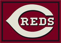 Cincinnati Reds MLB Spirit Rug Cut Pile Area Rug
