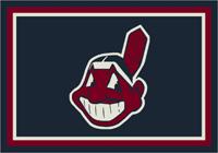Cleveland Indians MLB Spirit Rug Cut Pile Area Rug