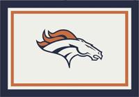Denver Broncos NFL Spirit/Team Rug