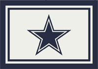 Dallas Cowboys NFL Spirit/Team Rug