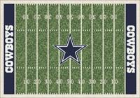 Dallas Cowboys NFL Football Field Rug