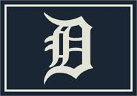 Detroit Tigers MLB Spirit Rug Cut Pile Area Rug