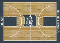 Duke Blue Devils College Basketball Court Rug