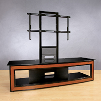 High Gloss Black Flat Panel Mounting System