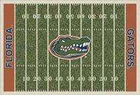 Florida Gators College Football Field Rug