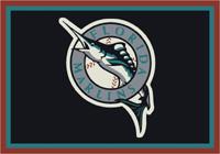 Florida Marlins MLB Spirit Rug Cut Pile Area Rug