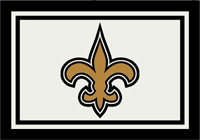New Orleans Saints NFL Spirit/Team Rug