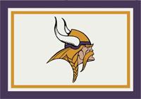 Minnesota Vikings NFL Spirit/Team Rug