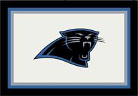 Carolina Panthers NFL Spirit/Team Rug