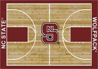 North Carolina State Wolfpack College Basketball Court