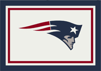 New England Patriots NFL Spirit/Team Rug