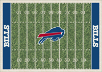 Buffalo Bills NFL Football Field Rug