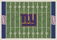 New York Giants NFL Football Field Rug