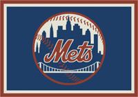 New York Mets MLB Spirit Rug Cut Pile Area Rug