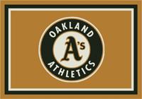 Oakland Athletics MLB Spirit Rug Cut Pile Area Rug