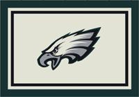 Philadelphia Eagles NFL Spirit/Team Rug