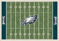 Philadelphia Eagles NFL Football Field Rug