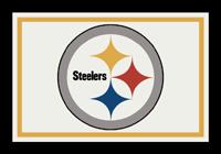 Pittsburgh Steelers NFL Spirit/Team Rug