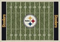 Pittsburgh Steelers NFL Football Field Rug