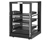Omni Mount 16 Rack Mini Floor Rack System/Black