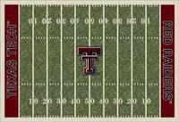 Texas Tech Red Raiders College Football Field Rug