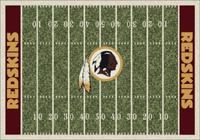 Washington Redskins NFL Football Field Rug
