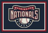 Washington Nationals MLB Spirit Rug Cut Pile Area Rug