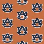 Auburn Tigers College Team Logo Rugs
