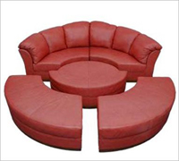Bass Ind. The Avanti Modular Sofa Leather