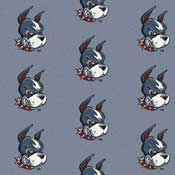 Boston Terriers College Team Logo Rug