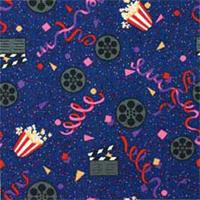 Home Theater Movie Style Area Rug: Cinema