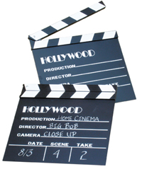 Bass Ind. Theatrical Authentic Clapboard